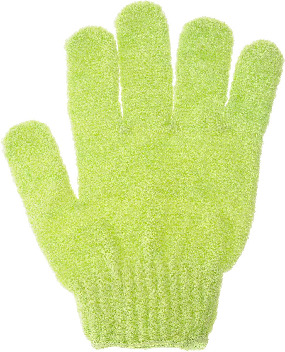 Перчатка массажная The Body Time, цвет: зеленый, 17,5 х 12,5 см, 2 шт15178Массажная перчатка The Body Time, выполненная из полиэстера, прекрасно массирует и очищает кожу, повышает ее тонус, улучшает циркуляцию крови и обмен веществ. Обладая эффектом скраба, перчатка мягко отшелушивает верхний слой эпидермиса, стимулируя рост новых молодых клеток, делая кожу здоровой и красивой. Перчатка используется для душа или для массажных процедур.