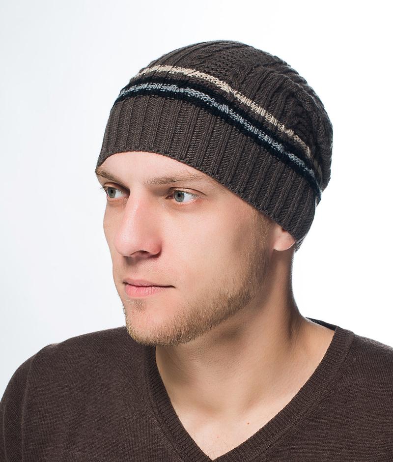 Шапка мужская Marhatter, цвет: темно-серый. Размер 57/59. MMH6591/2MMH6591/2Стильная шапка выполнена из тонкого кашемира и утеплена флисом. Идеальный вариант на каждый день.