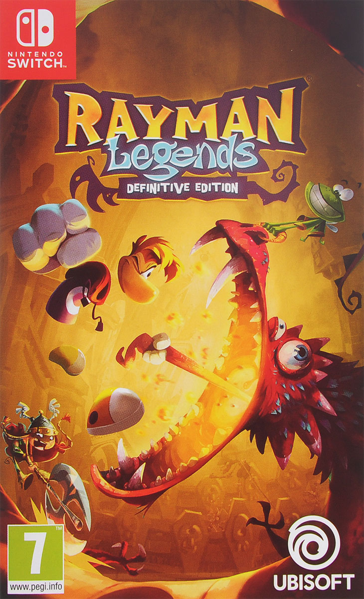 Rayman Legends: Definitive Edition (Nintendo Switch) rayman legends ps3