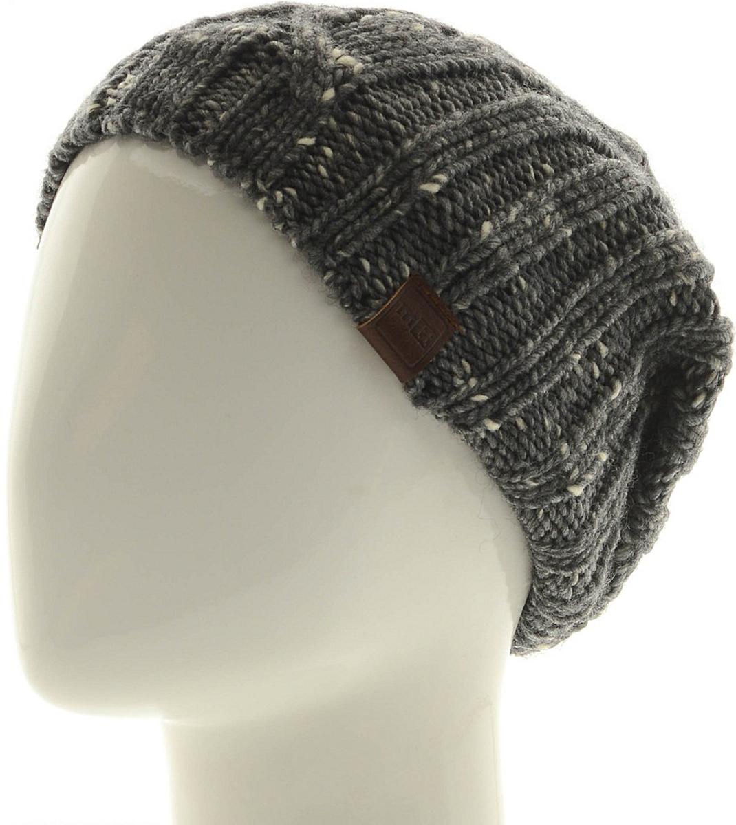 Шапка мужская Marhatter, цвет: темно-серый. Размер 57/59. MMH7068/2MMH7068/2Отличная вязаная шапка в стиле сasual. Модель прекрасно подойдет активным молодым людям, ценящим комфорт и удобство. Идеальный вариант на каждый день.