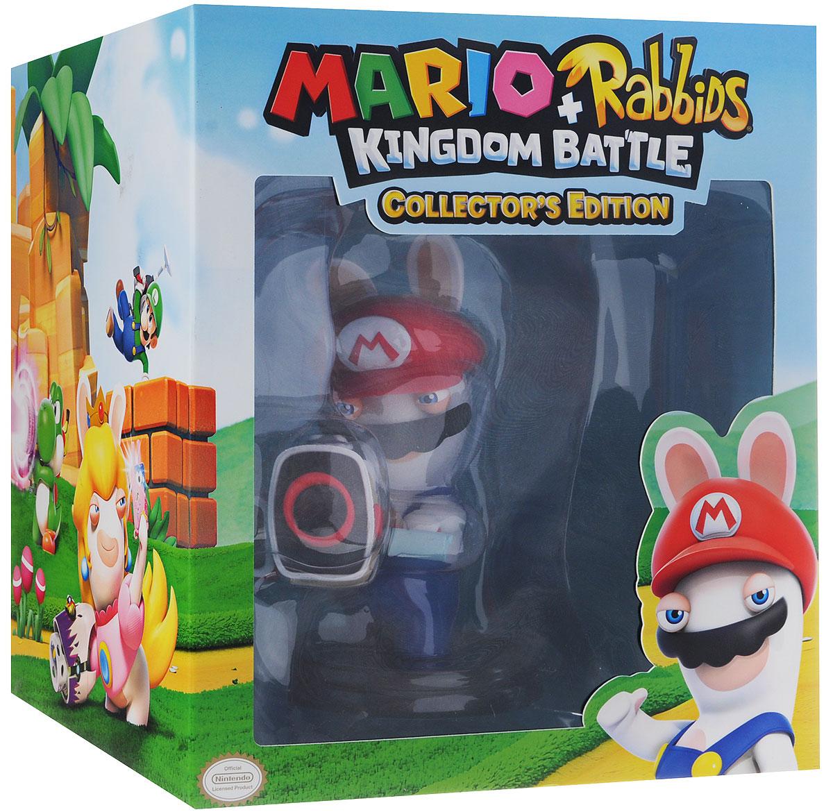 Mario + Rabbids Битва за королевство. Коллекционное издание (Nintendo Switch) коллекционная фигурка mario rabbids битва за королевство – кролик луиджи 15 24 см