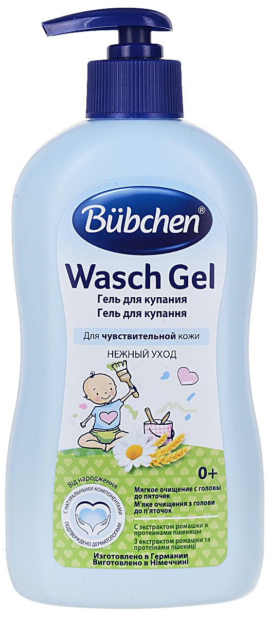 Фото Bubchen Гель для купания младенцев Kamille с ромашкой 400 мл