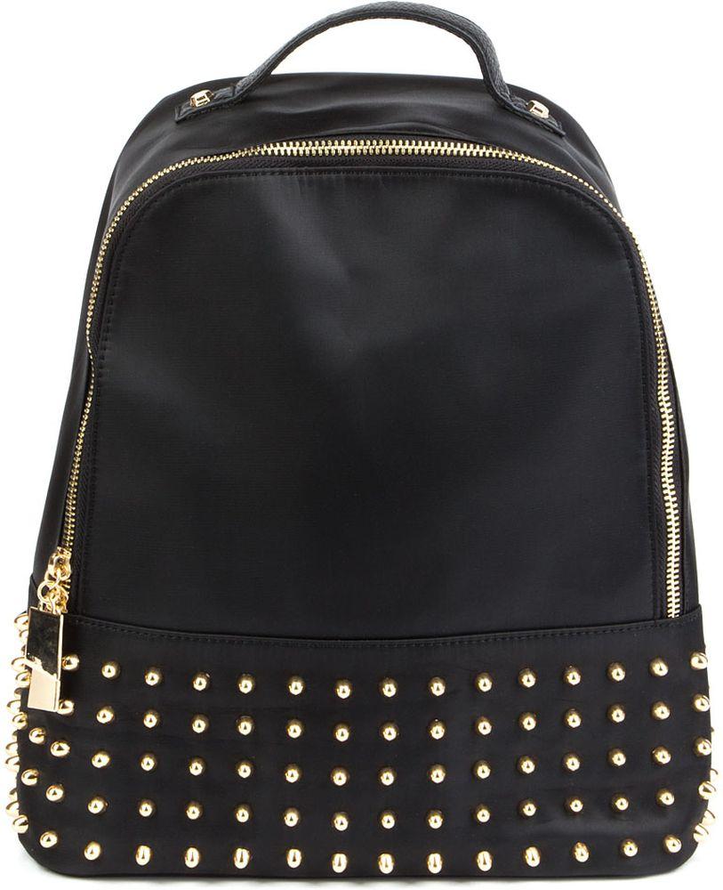 Сумка-рюкзак женская Keddo, цвет: черный. 378155/01-01378155/01-01Стильная женская сумка-рюкзак Keddoвыполнена из нейлона. Сумка-рюкзак застегивается на молнию и имеет одно вместительное отделение. Лямки регулируются по длине. Имеется ручка для переноски.