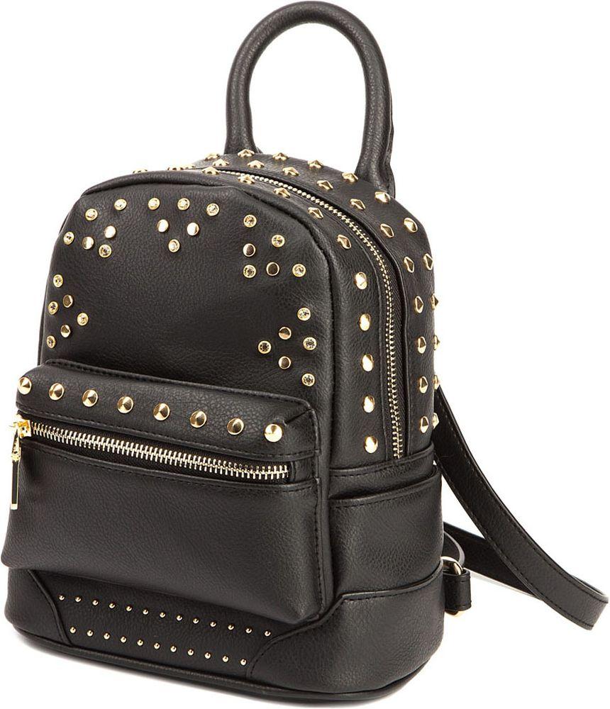 Сумка-рюкзак женская Elisabeth, цвет: черный. 378184/01-01378184/01-01