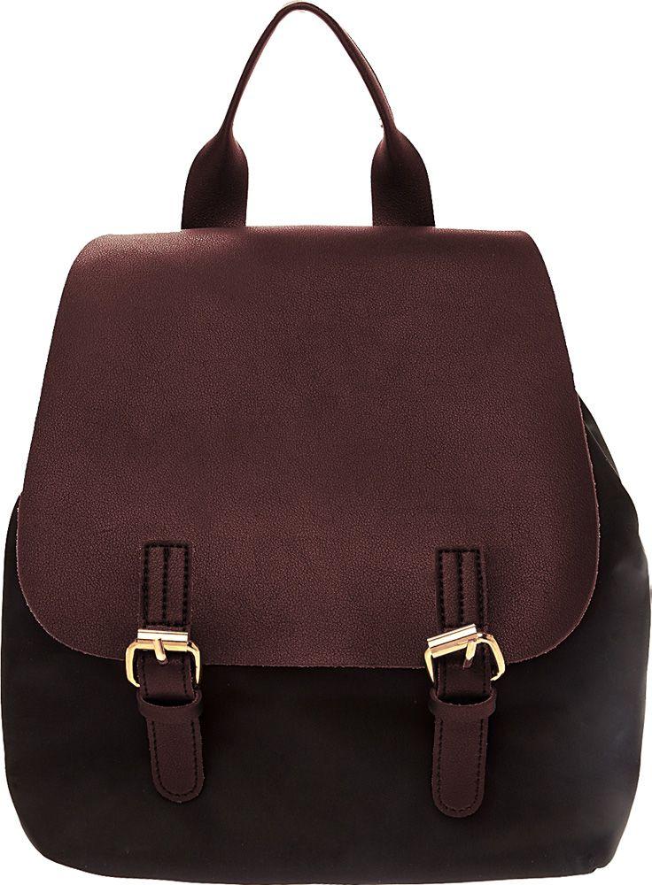Сумка-рюкзак женская Keddo, цвет: бордовый, черный. 378233/01-02 keddo 877125 52 02