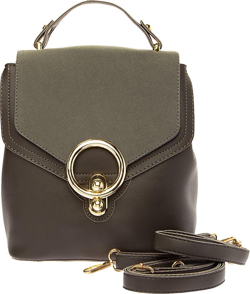 Сумка-рюкзак женская Elisabeth, цвет: темно-серый. 378236/01-02 - Сумки