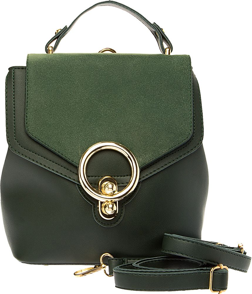 Сумка-рюкзак женская Elisabeth, цвет: хаки. 378236/01-03 - Сумки