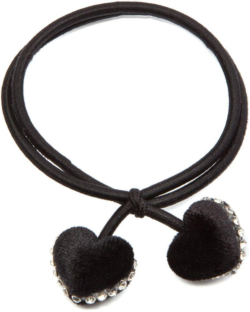 Резинка для волос женская Elisabeth, цвет: черный. 378600/08-05