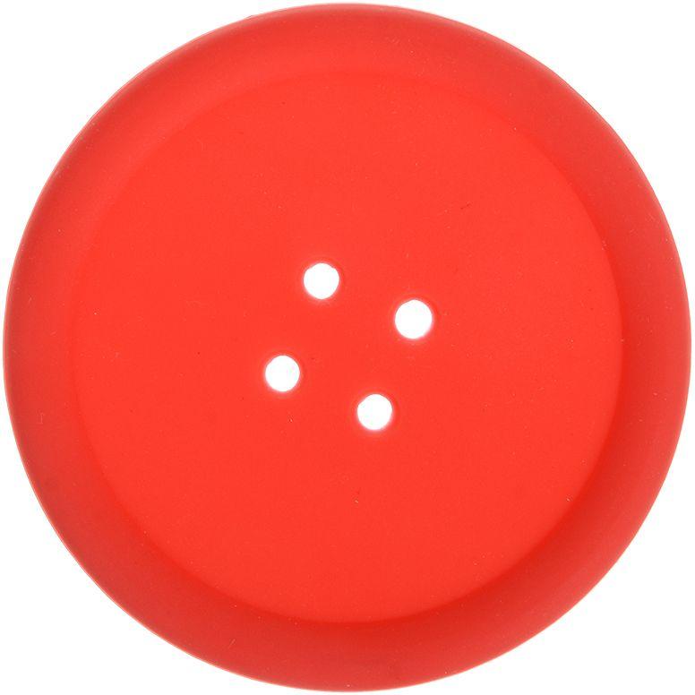 Подставка термостойкая Marmiton Пуговка, цвет: красный, 10 х 10 см16176Термостойкая подставка Marmiton Пуговка выполнена из силикона в виде пуговки. Изделие предназначено для защиты мебели от воздействия высоких температур. Также ее можно использовать в качестве прихватки. Силикон устойчив к фруктовым кислотам, к воздействию низких и высоких температур. Не воздействует с продуктами питания и не впитывает запахи. Обладает естественным антипригарным свойством. Можно мыть и сушить в посудомоечной машине.Диаметр: 10 см.