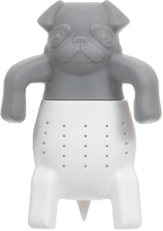 Ситечко для заваривания чая Marmiton Собака, 9,5 х 6,5 см16177Ситечко Marmiton Собака выполнено из силикона. Изделие предназначено для заваривания чая. Материал устойчив к фруктовым кислотам, к воздействию низких и высоких температур. Не взаимодействует с продуктами питания и не впитывает запахи. Можно мыть и сушить в посудомоечной машине.