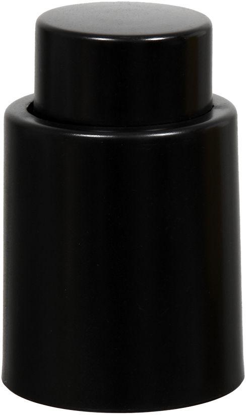 Пробка вакуумная для бутылок Marmiton, цвет: черный, 4,5 х 7 см17093Пробка вакуумная для бутылок Marmiton выполнена из пластика. Способ применения: наденьте вакуумную пробку для вина на горлышко бутылки и нажимайте на верхнюю часть (кнопку) до тех пор, пока пробка не зафиксируется. Чтобы открыть бутылку, достаточно нажать на кнопку.