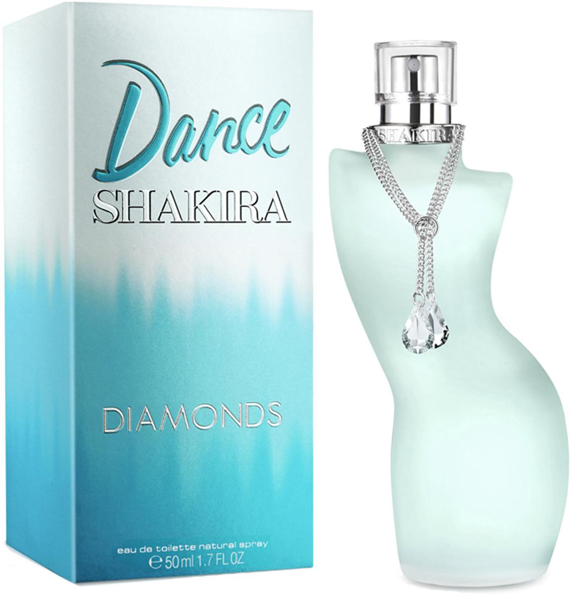 Shakira Dance Diamonds Туалетная вода женская, 50 мл shakira dance diamonds туалетная вода женская 30 мл