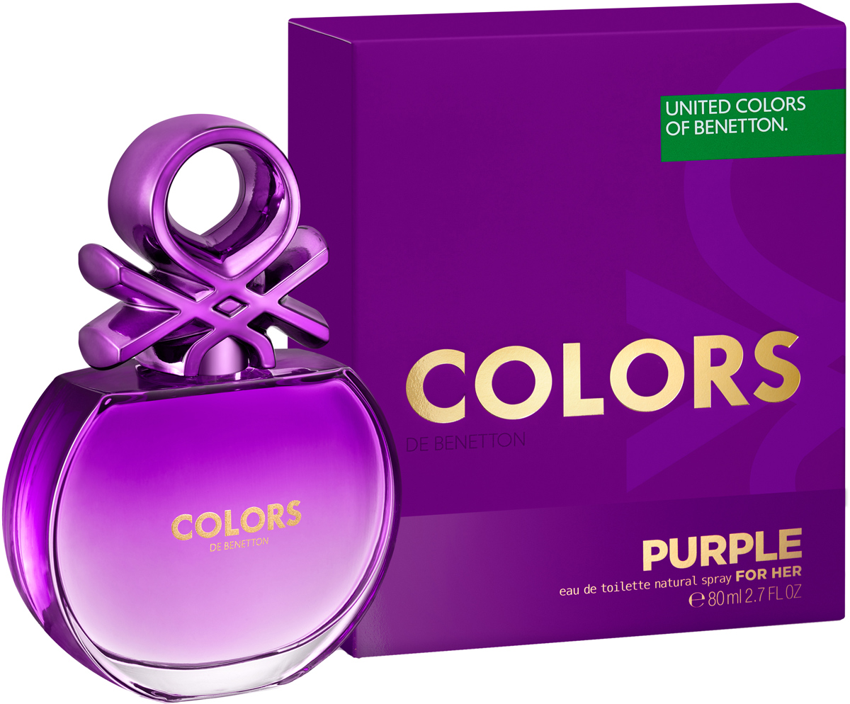 Benetton Colors Purple Туалетная вода женская, 80 мл benetton colors purple 50 мл benetton benetton colors purple 50 мл