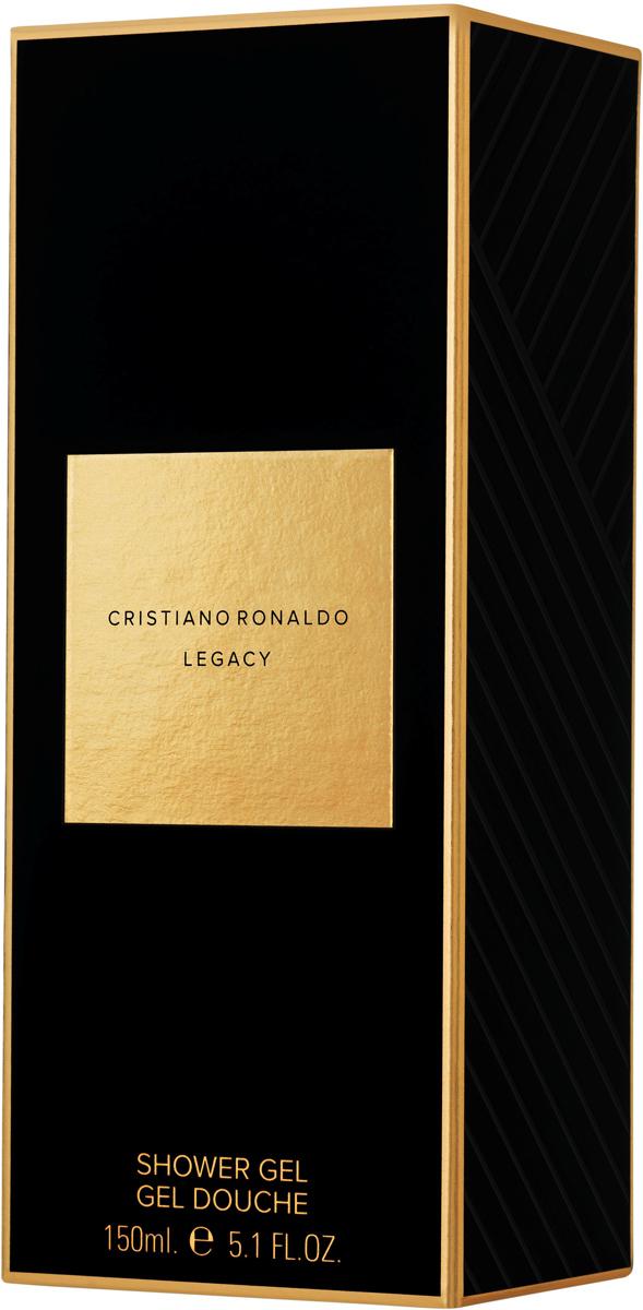 Cristiano Ronaldo Legacy Мужской Гель для душа, 150 млCRL05837Первый аромат Cristano Ronaldo Legacy обладает древесно-ароматическим шлейфом.