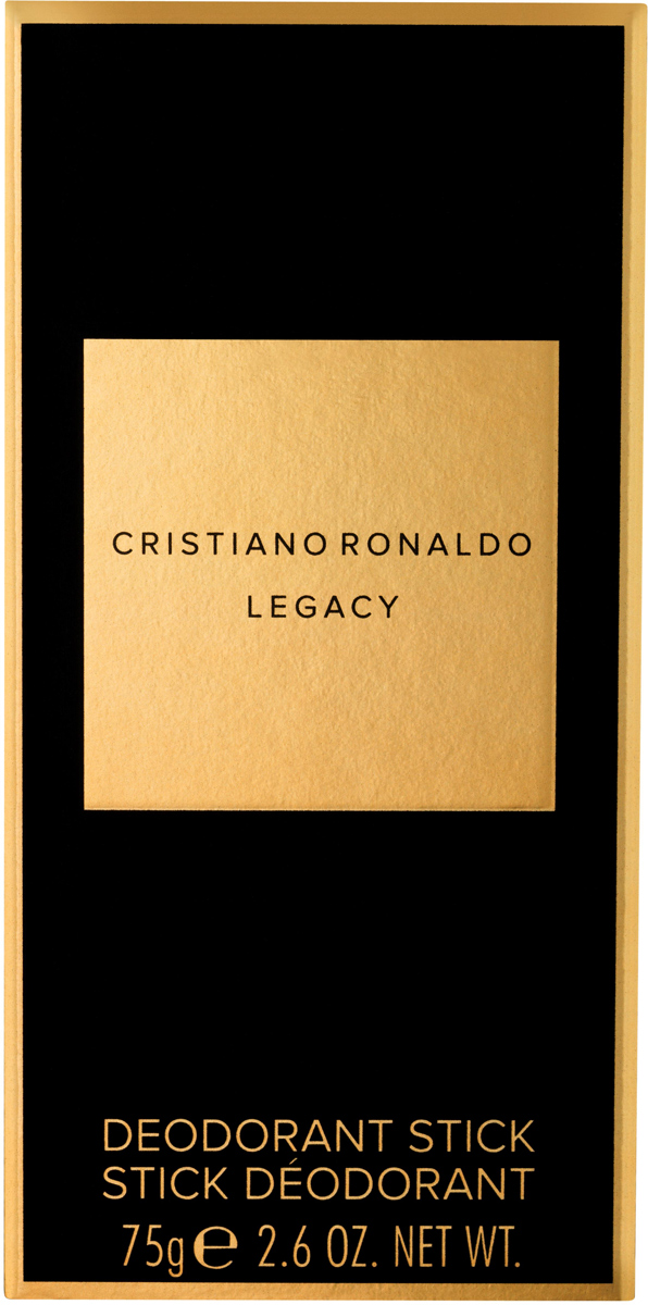 Cristiano Ronaldo Legacy Мужской Део-стик, 75 гCRL06292Первый аромат Cristano Ronaldo Legacy обладает древесно-ароматическим шлейфом.