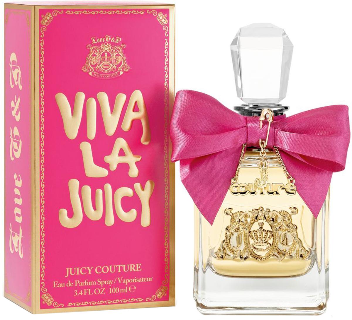 Juicy Couture Viva La Juicy Парфюмерная вода женская, 100 млJY2F00003Основной аромат на каждый день. Никогда не выходите из дома без Viva!