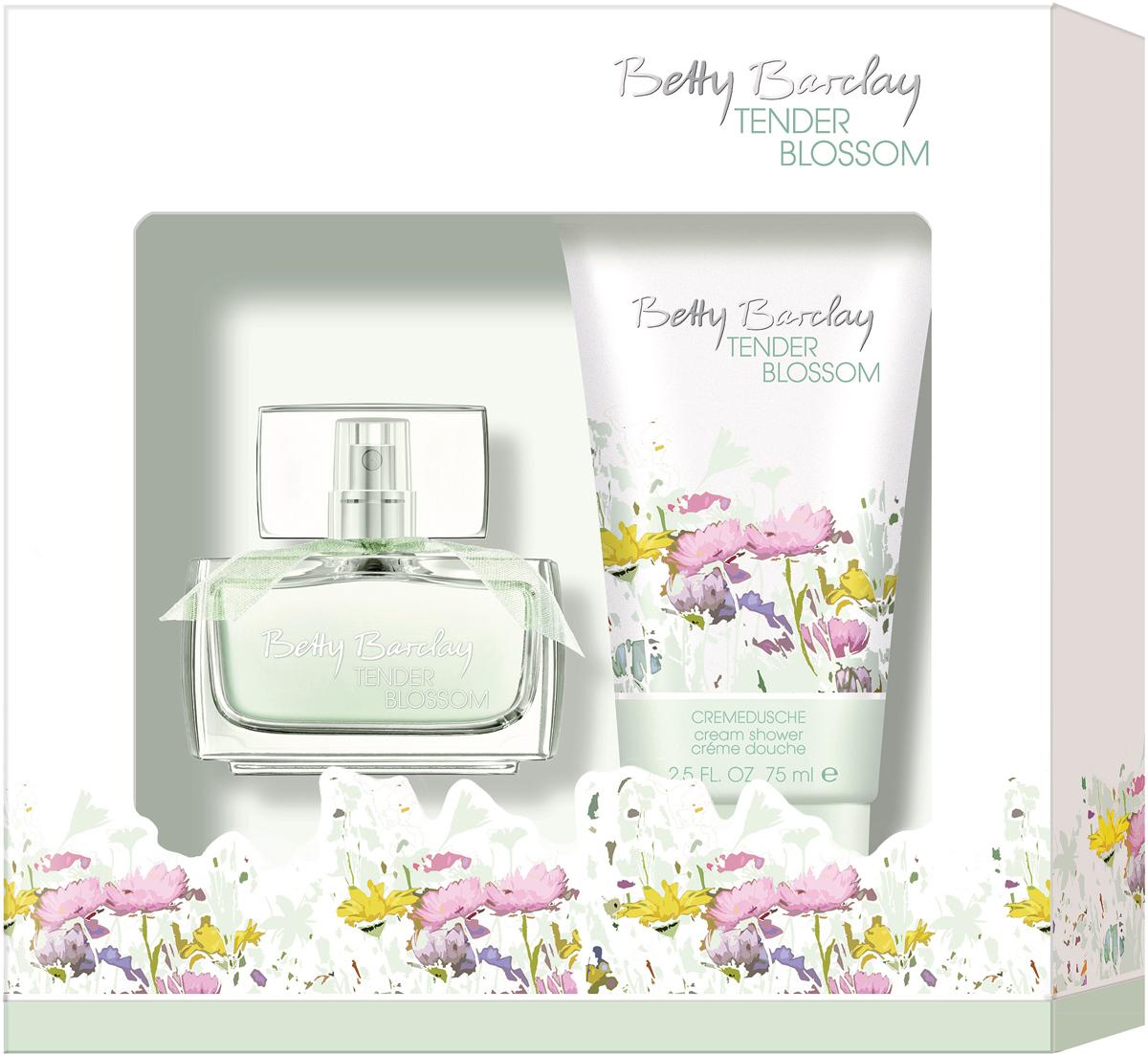 Betty Barclay Tender Blossom Набор Туалетная вода женская, 20 мл + гель для душа, 75 мл4011700367283В набор входит уже полюбившийся многим аромат Tender Blossom и гель для душа.