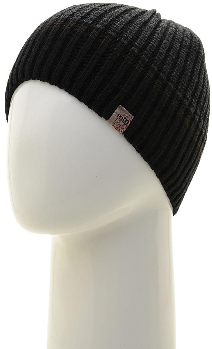 Шапка мужская Marhatter, цвет: черный. Размер 61/63. MMH7184/2MMH7184/2Универсальная шапка, отлично подходит под любой стиль одежды. Сдержанный строгий дизайн, деликатная отделка и классические цвета.