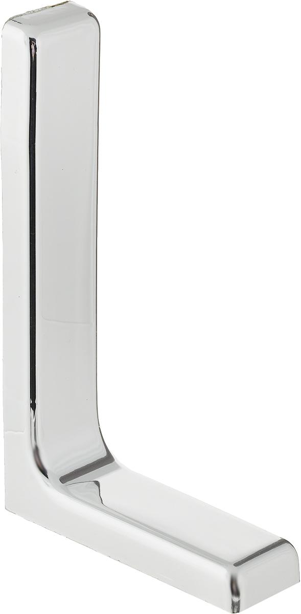 Консоль Tech-KREP, с декоративной накладкой, цвет: серый, длина 18 см129955Консоль Tech-KREP изготовлена из металла и оформлена пластиковой декоративной накладкой. Консоль устанавливается на мебель и предназначено для поддержки деревянных полок. Изделие послужит украшением и стильным элементом дизайна вашего интерьера. С внутренней стороны консоли имеются отверстия для крепления. Размер: 18 х 11,5 х 3,5 см.