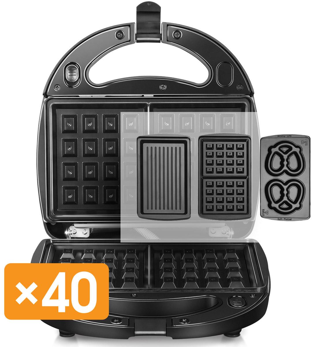 Redmond RMB-M606 мультипекарьRMB-M606Redmond RMB-M606 - это универсальное многофункциональное устройство, заменяющее вафельницу, омлетницу, гриль, пончик-мейкер, кексницу, бутербродницу и множество других приборов для выпечки или жарки.Достаточно просто поменять пресс-форму, и вы получите новое устройство для приготовления популярного блюда! Ароматное печенье, крекеры, сочни или омлет с итальянскими травами, пицца, пряничный домик для детского праздника, горячие бутерброды или овощи-гриль для гарнира – все это мультипекарь приготовит в считанные минуты!Мультипекарь – это не просто домашняя выпечка, горячие блюда и закуски; это здоровое питание для вас и ваших близких! Ведь с мультипекарем вы готовите сами: из свежих продуктов и без вредных пищевых добавок.Выбор панелей для мультипекаря будет расширяться – вы будете радовать себя и близких все новыми и новыми кулинарными шедеврами из самых разных кухонь мира!