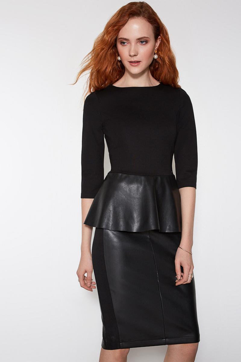 Блузка женская Concept Club Bask, цвет: черный. 10200260168. Размер S (44) бахилы bask bask thl leggings th