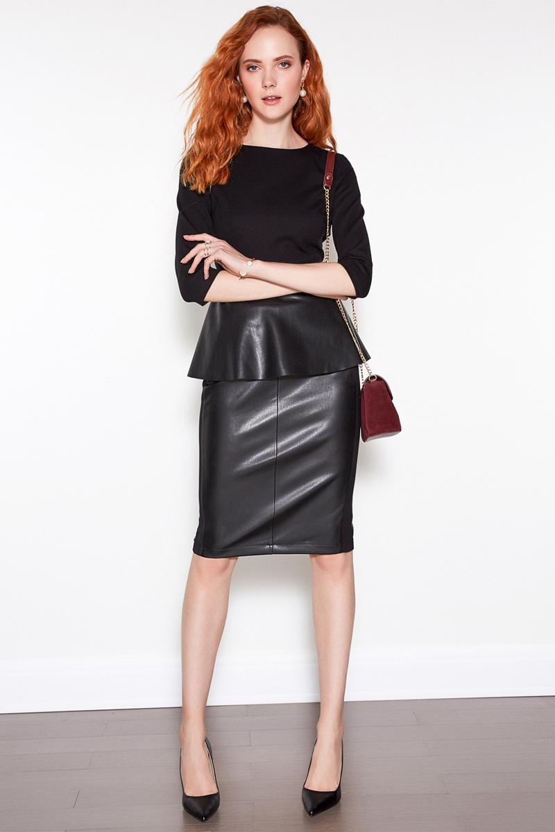 Блузка женская Concept Club Bask, цвет: черный. 10200260168. Размер XL (50) bask peak v2