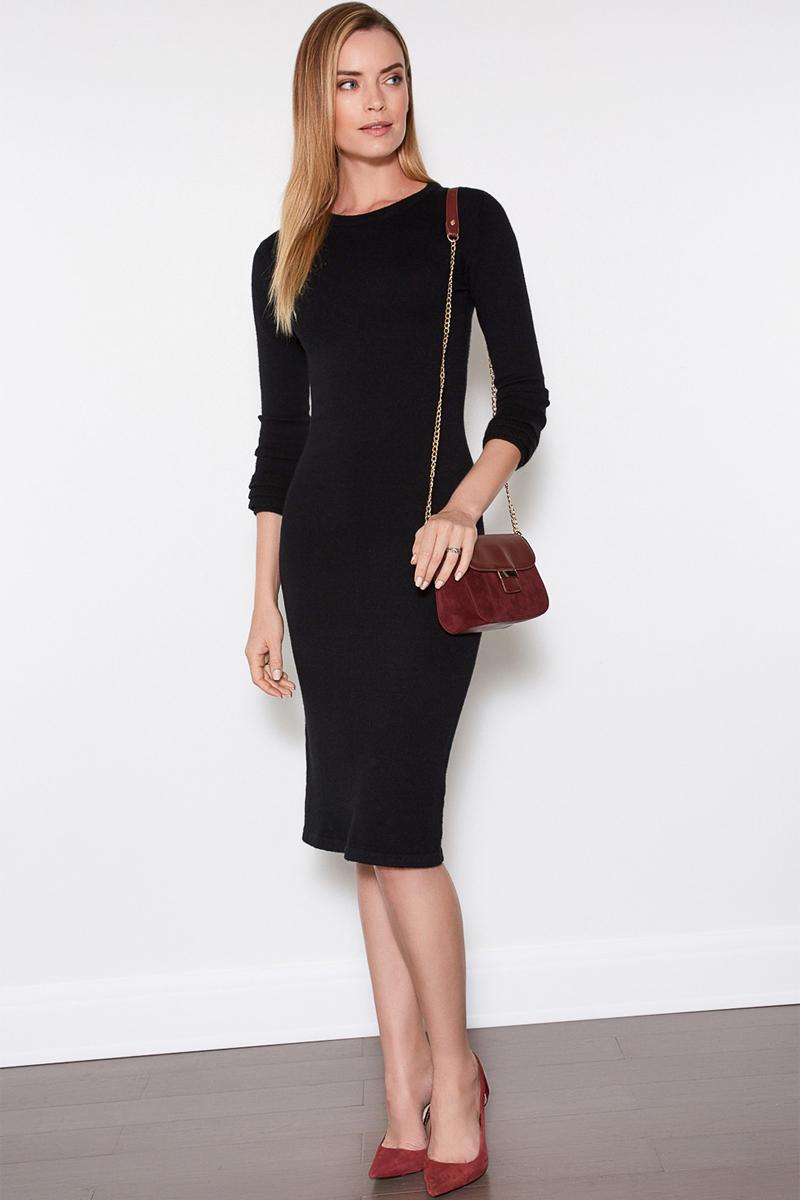 Платье женское Concept Club Fedul, цвет: черный. 10200200369. Размер XS (42)10200200369