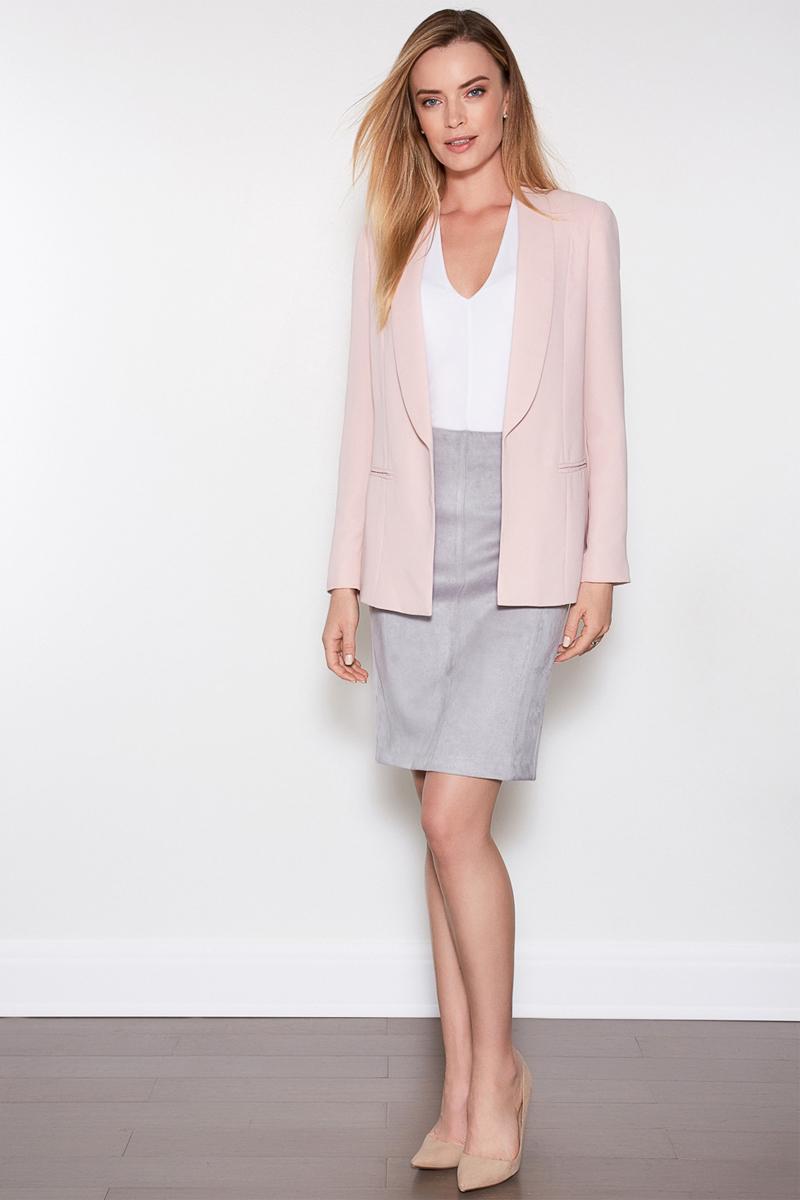 Юбка женская Concept Club Fedra, цвет: светло-серый. 10200180188. Размер L (48)10200180188
