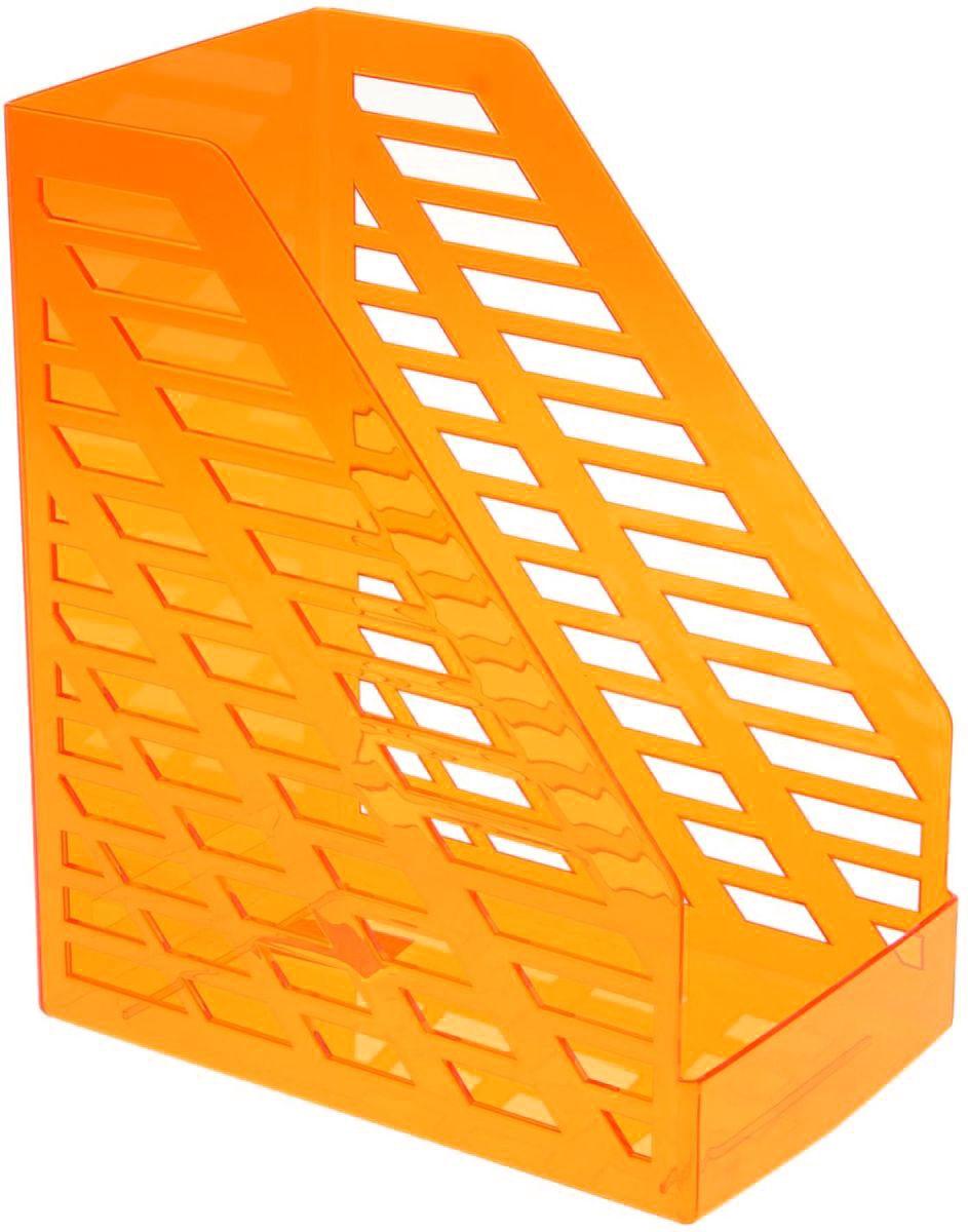 Стамм Лоток для бумаг вертикальный XXL цвет оранжевый