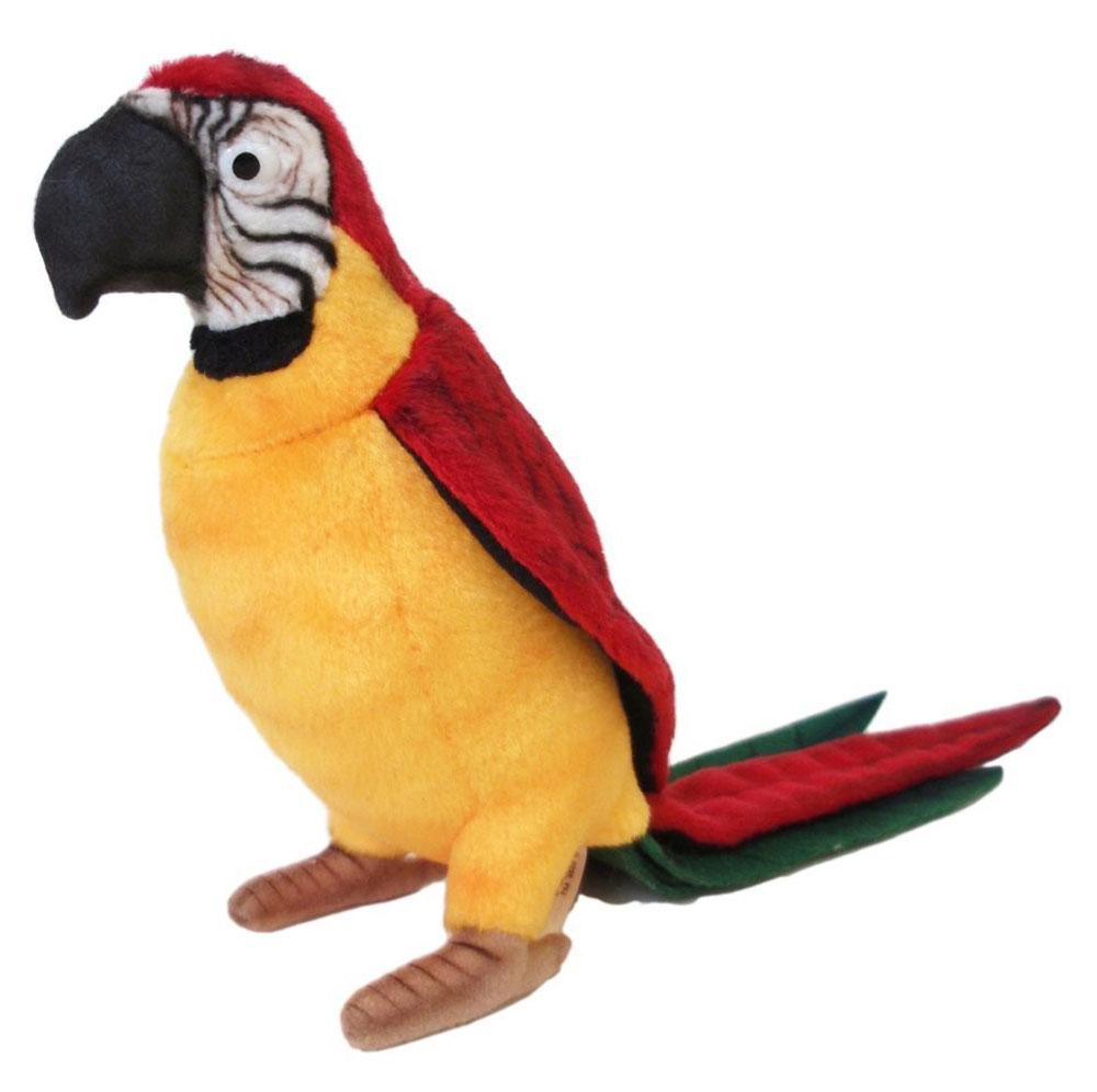 Hansa Мягкая игрушка Желтый попугай 37 см игрушка hansa попугай 37cm yellow 3323