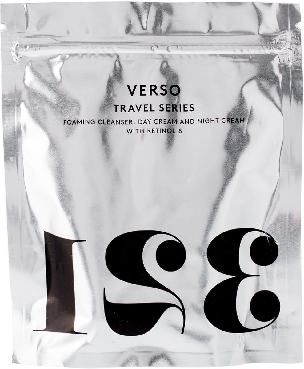 Verso Skincare Дорожный набор: гель для умывания, 25 мл; дневной крем для лица, 15 мл; ночной крем для лица, 15 мл21638В набор входит: гель для умывания 25 мл, дневной крем для лица 15 мл, ночной крем для лица 15 мл
