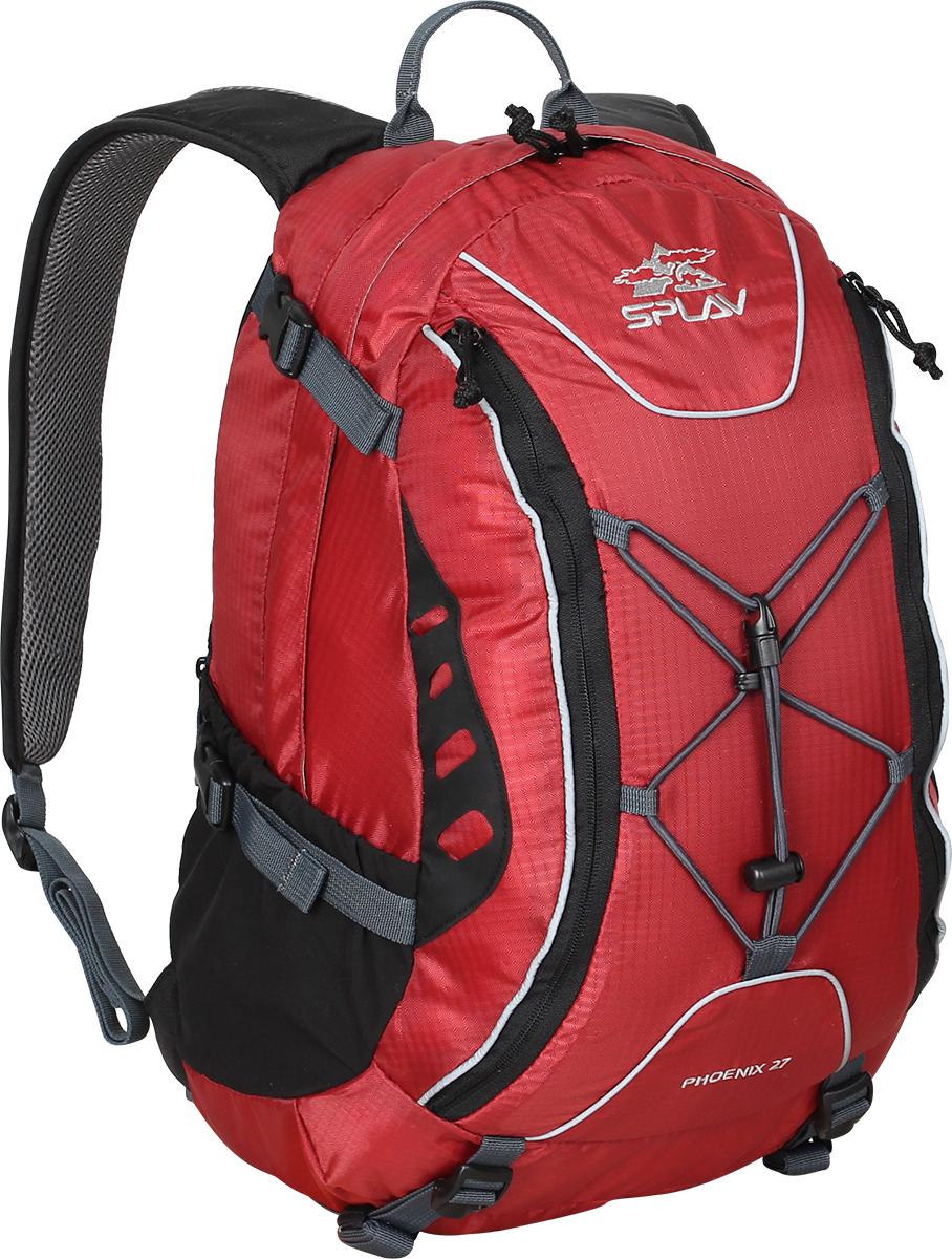 Рюкзак городской Сплав Phoenix 27, цвет: красный, 27 л5020170Функциональный городской рюкзак Сплав Phoenix 27 изготовлен для повседневного использования. Идеально подойдет тем, кто не любит сидеть на месте. Рюкзак легкий - 0,9 кг и вместительный - 27 л. Изделие выполнено из прочных тканей Polyester Honeycomb 300D R/S / 600D. В изготовлении моделей Phoenix 27 используется особо прочная и надежная фурнитура от мирового лидера YKK, поэтому вы можете не беспокоиться за ее целостность.Отличительной чертой рюкзака является большое количество скрытых карманов. Также имеется органайзер для важных мелочей, которые всегда должны быть под рукой. Имеется карман с гермочехлом для защиты от непогоды.Основное отделение рюкзака оснащено одним карманом для мелочей и застегивается на застежку-молнию. Мягкие валики с подкладкой из сетки Airmesh расположены на спинке рюкзака.Два потайных кармана на спинке рюкзака. Один в верхней части под лямками и один вертикальный внизу.Два перекрывающихся фронтальных кармана на фронтальной части рюкзака с удобными вертикальными молниями, с органайзером и дополнительными кармашками.Два боковых кармана из сетки.Рюкзак дополнен съемным, регулируемым поясным ремнем из стропы - 25 мм.