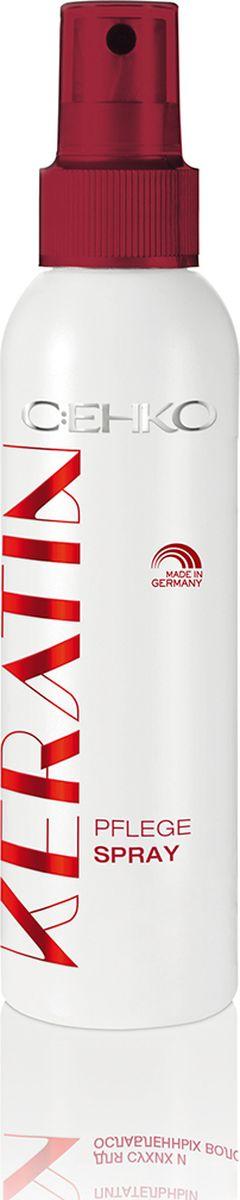 C:EHKO Keratin Спрей-кондиционер питательный для сухих и ослабленных волос, 150 мл флюид c ehko keratin farbglanz hair fluid 7 10 мл