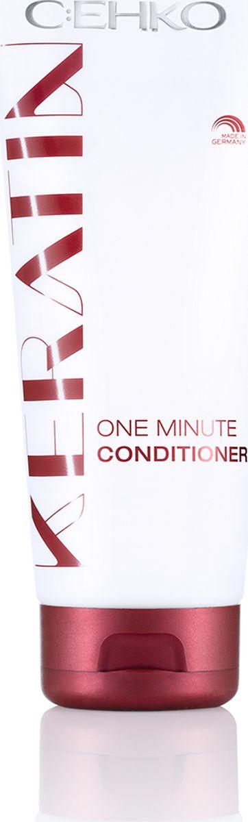 C:EHKO Keratin Кондиционер-ополаскиватель Минутка для всех типов волос, 200 мл