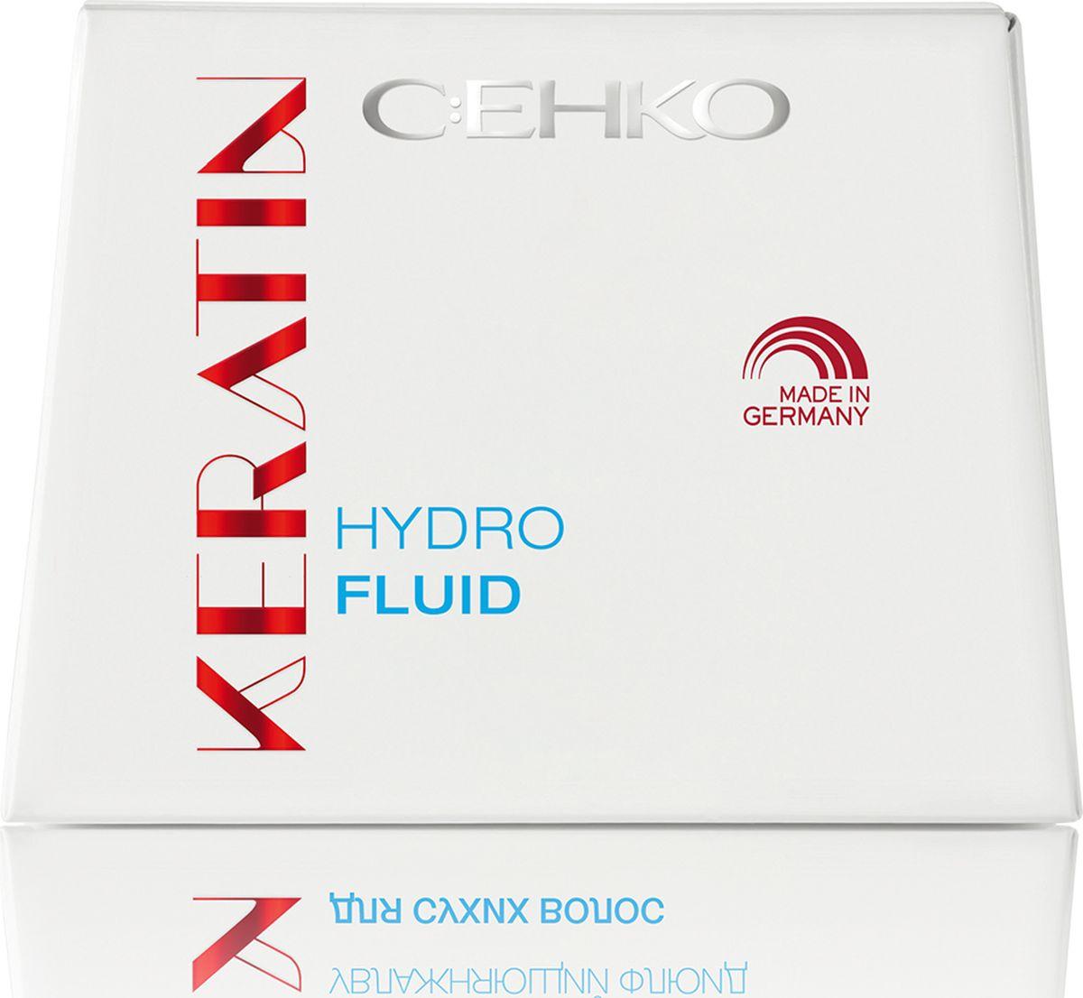 C:EHKO Keratin Увлажняющий флюид, 7х10 мл3104953Увлажняющий флюид с кератином, пантенолом и экстрактом белого чая – отличное увлажнение для очень сухих и поврежденных волос.