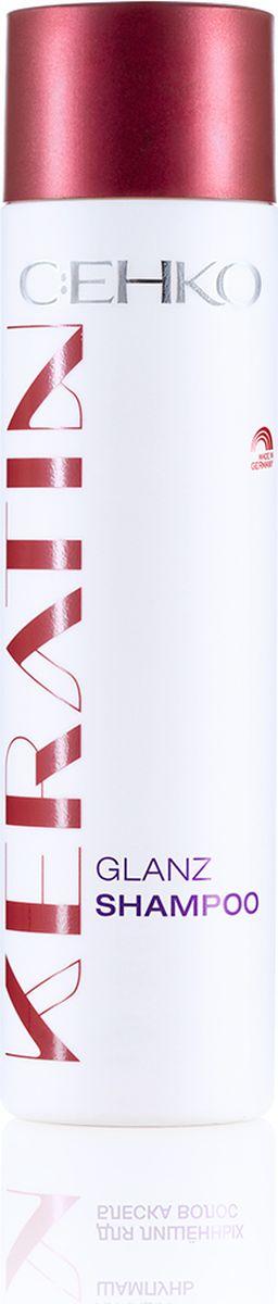 C:EHKO Keratin Шампунь Блеск для лишённых блеска волос, 250 мл3109553Шампунь яичный с кератином, яичным порошком и жемчужным экстрактом придает волосам сияющий цвет и освежает его бриллиантовый блеск. Высокоэффективный пантенол улучшает блеск волос и оптимально увлажняет их. Волосы становятся эластичными.