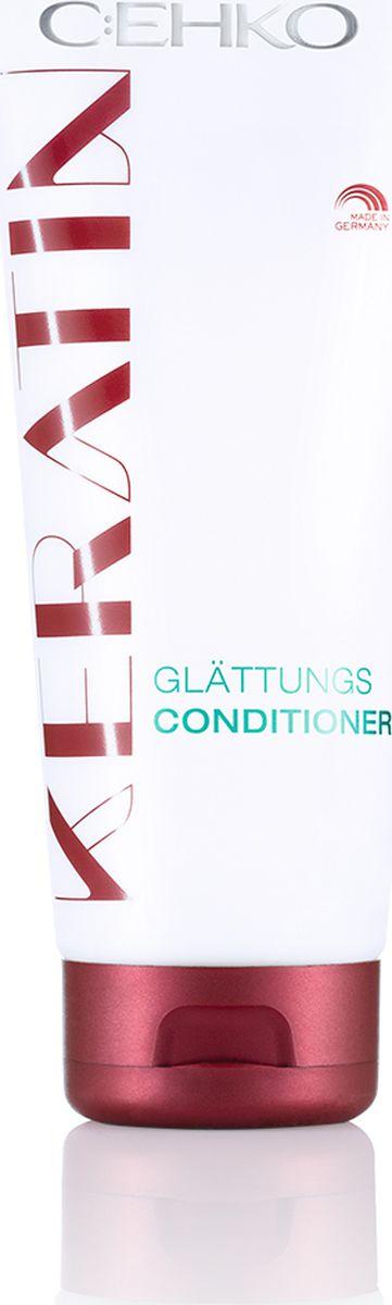 C:EHKO Keratin Кондиционер-ополаскиватель Кератиновое выпрямление для непослушных волос, 200 мл