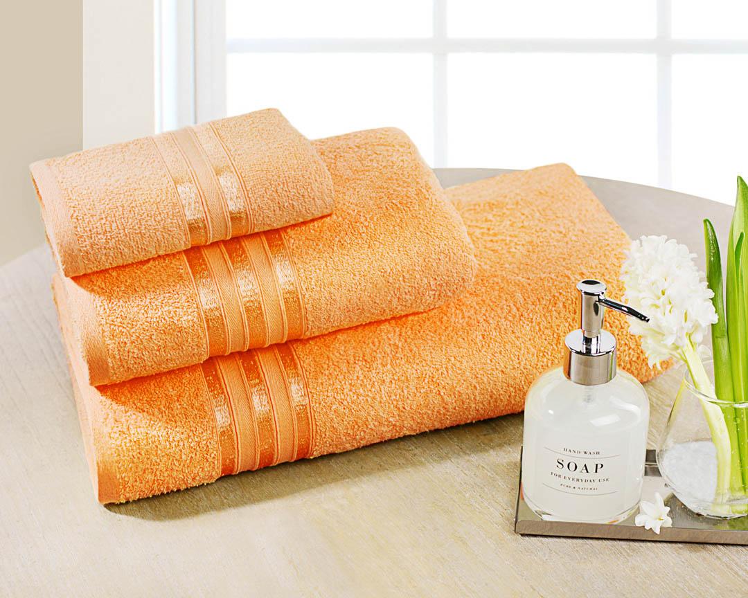 Полотенце для лица Dome Harmonika, цвет: оранжевый, 50 х 80 смdme283545Производитель: DomeСтрана бренда: ДанияМатериал: Махра (100% Хлопок)Размер: 50х80 смПлотность: 420 гр/м3