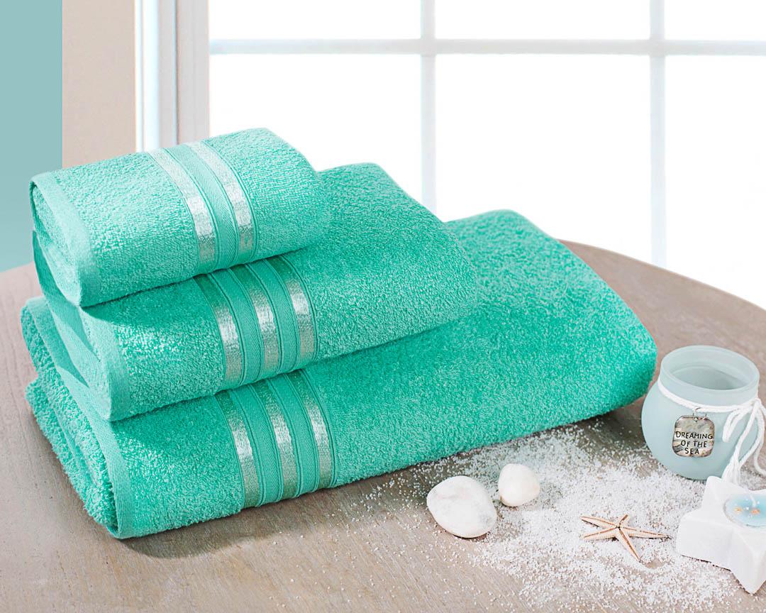 Полотенце банное Dome  Harmonika , цвет: мятный, 70 х 130 см - Полотенца