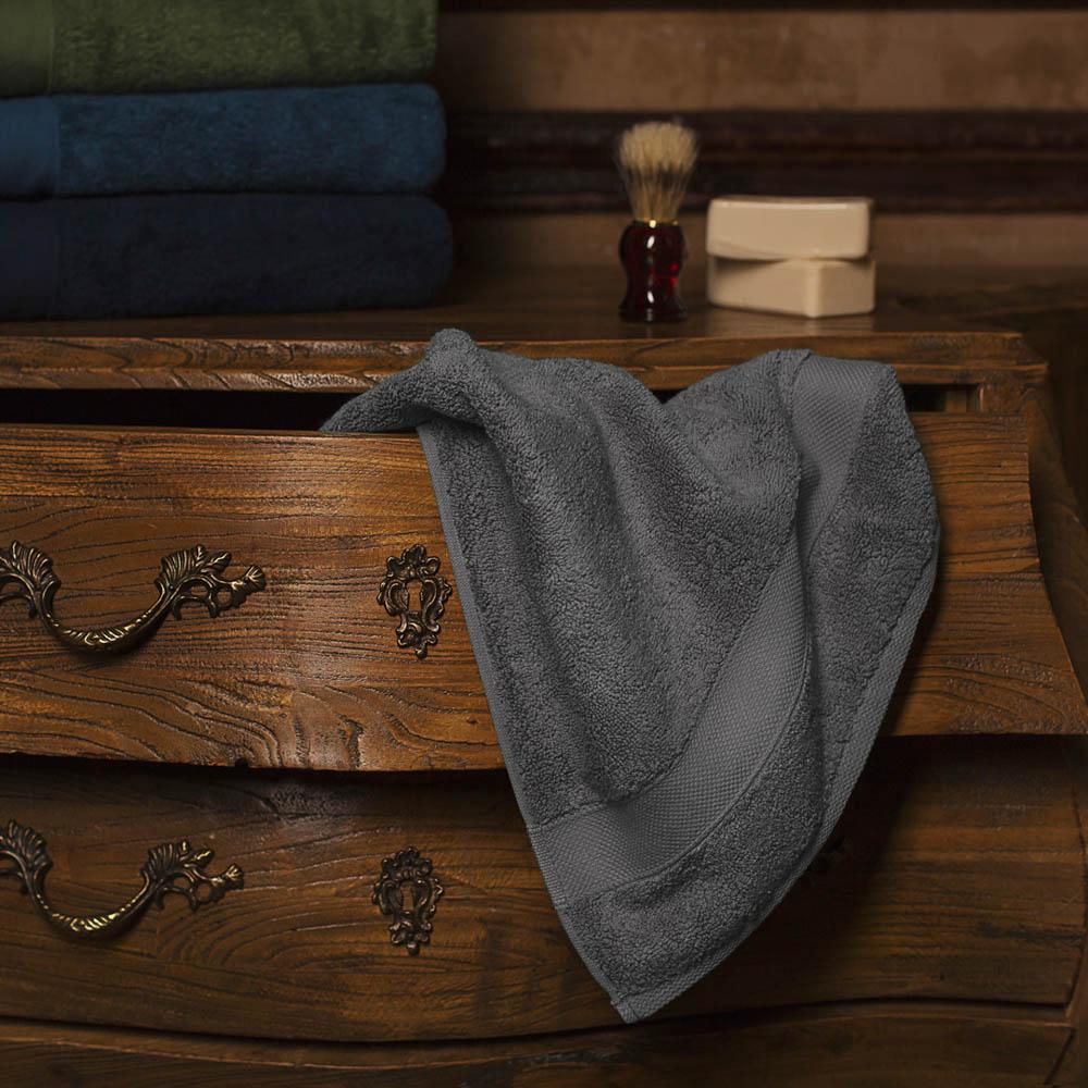 Полотенце для лица William Roberts  Aberdeen , цвет: серый, 50 х 90 см - Полотенца