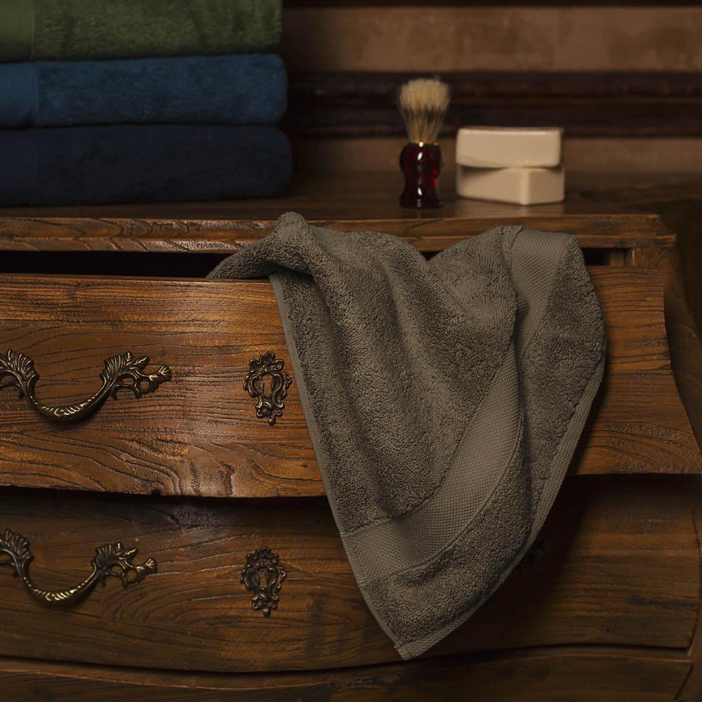 Полотенце банное William Roberts  Aberdeen , цвет: серо-коричневый, 70 х 140 см - Полотенца