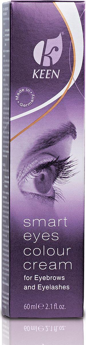 Keen Краска для бровей и ресниц Smart Eyes, черная, 60 мл12111160Краска для бровей и ресниц делает ваш взгляд неотразимым. Превосходный и выразительный макияж для глаз. Особо мягкая и щадящая рецептура.