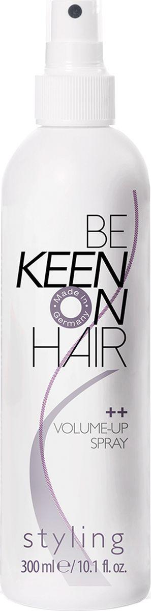 Keen Спрей для объема, 300 мл66800600Безаэрозольный спрей. Вещества, создающие объем делают волосы плотнее. Прическа сохраняет объем в течение всего дня. Спрей обволакивает волосы и стабилизирует структуру. Пантенол в составе спрея увлажняет волосы и возвращает им натуральный блеск. Специальный ультрафиолетовый фильтр защищает волосы от разрушающего влияния солнечных лучей.