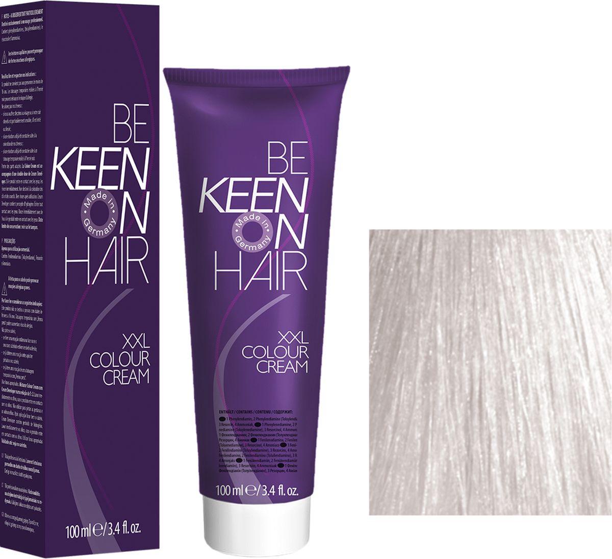 Keen Краска для волос 0.0 Супер осветлитель Superaufheller, 100 мл69100000Модные оттенкиБолее 100 оттенков для креативной комбинации цветов.ЭкономичностьПри использовании тюбика 100 мл вы получаете оптимальное соотношение цены и качества!УходМолочный белок поддерживает структуру волоса во время окрашивания и придает волосам блеск и шелковистость. Протеины хорошо встраиваются в волосы и снабжают их влагой.