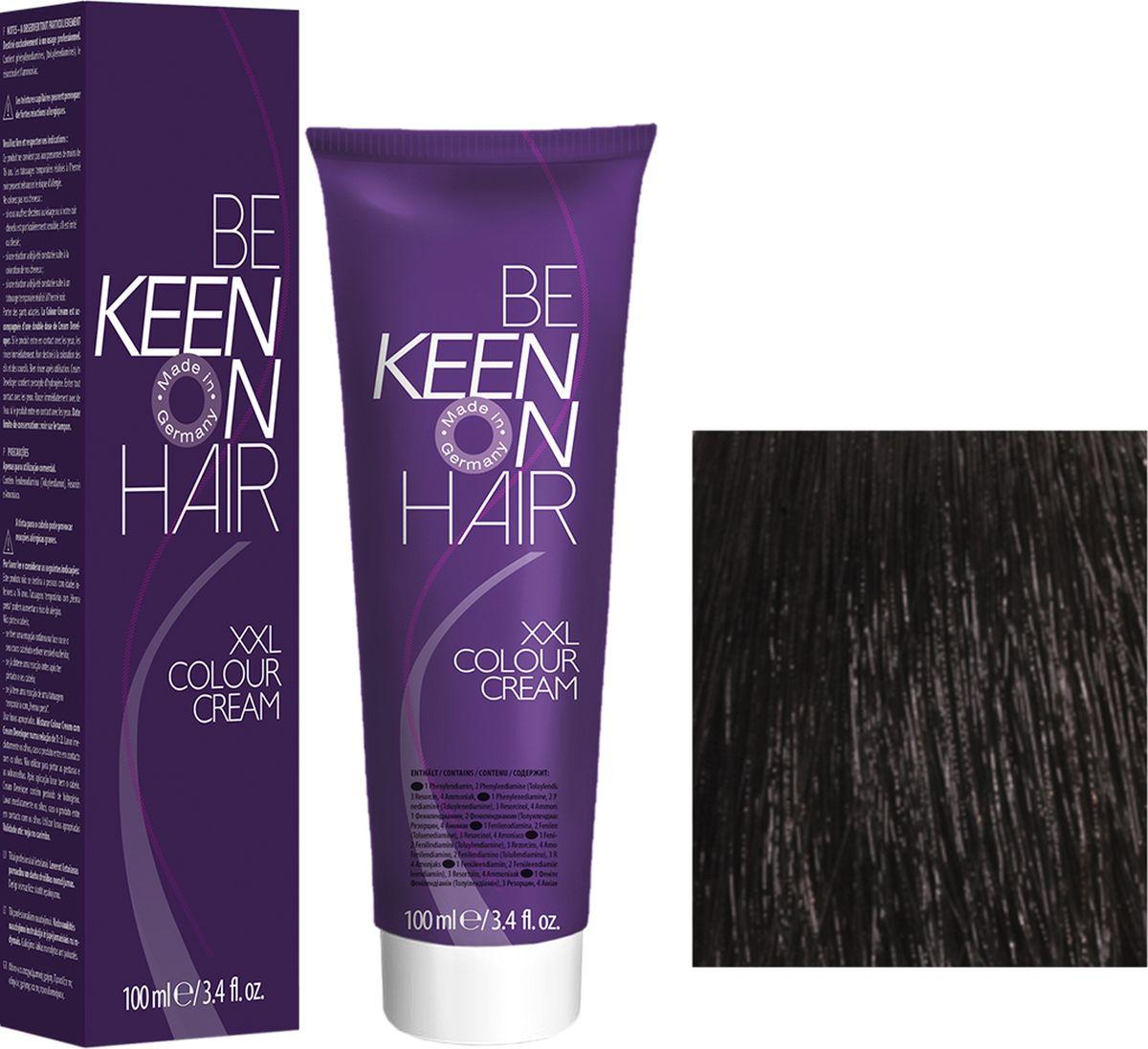 Keen Краска для волос 3.0 Темно-коричневый Dunkelbraun, 100 мл69100010Модные оттенкиБолее 100 оттенков для креативной комбинации цветов.ЭкономичностьПри использовании тюбика 100 мл вы получаете оптимальное соотношение цены и качества!УходМолочный белок поддерживает структуру волоса во время окрашивания и придает волосам блеск и шелковистость. Протеины хорошо встраиваются в волосы и снабжают их влагой.