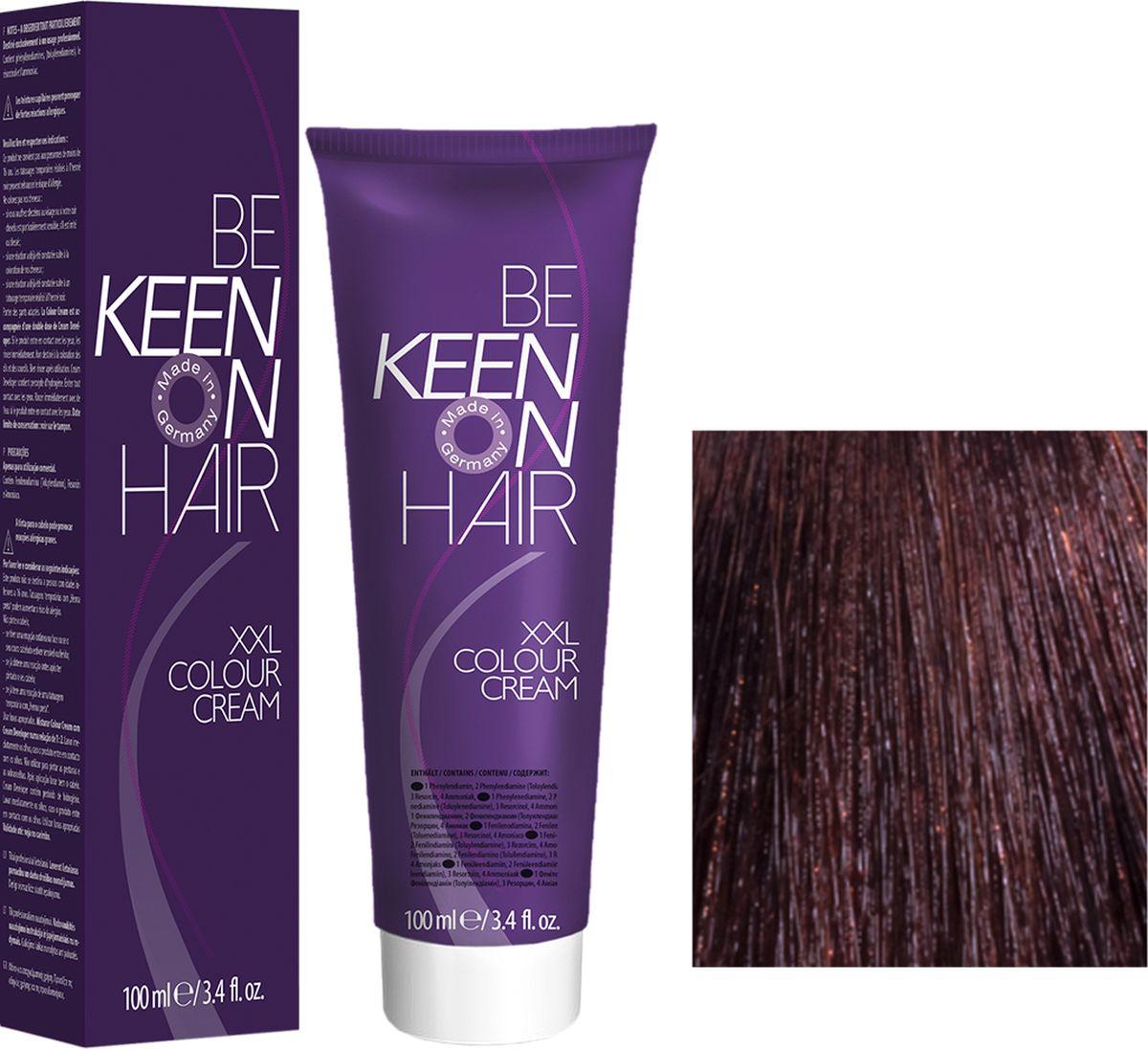Keen Краска для волос 4.6 Дикая слива Wildpflaume, 100 мл69100014Модные оттенкиБолее 100 оттенков для креативной комбинации цветов.ЭкономичностьПри использовании тюбика 100 мл вы получаете оптимальное соотношение цены и качества!УходМолочный белок поддерживает структуру волоса во время окрашивания и придает волосам блеск и шелковистость. Протеины хорошо встраиваются в волосы и снабжают их влагой.