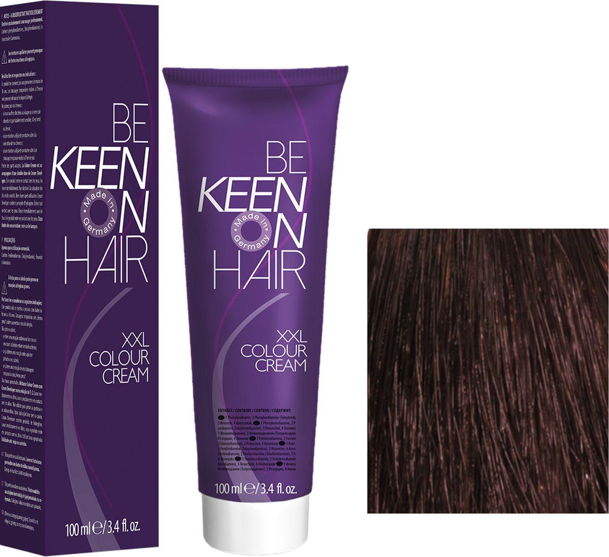 Keen Краска для волос 4.75 Махагон Mahagoni, 100 мл69100017Модные оттенкиБолее 100 оттенков для креативной комбинации цветов.ЭкономичностьПри использовании тюбика 100 мл вы получаете оптимальное соотношение цены и качества!УходМолочный белок поддерживает структуру волоса во время окрашивания и придает волосам блеск и шелковистость. Протеины хорошо встраиваются в волосы и снабжают их влагой.