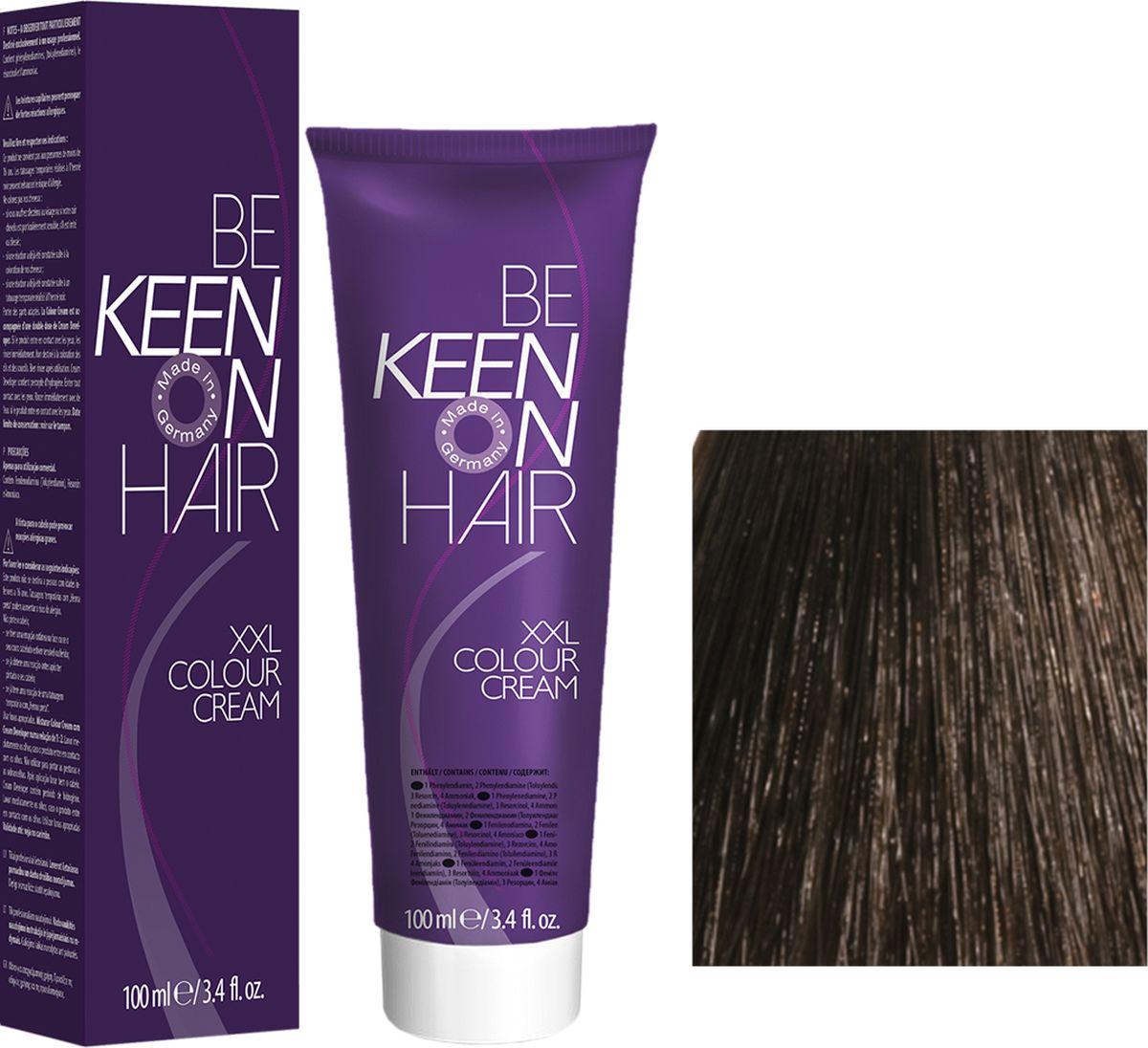 Keen Краска для волос 5.0 Светло-коричневый Hellbraun, 100 мл69100018Модные оттенкиБолее 100 оттенков для креативной комбинации цветов.ЭкономичностьПри использовании тюбика 100 мл вы получаете оптимальное соотношение цены и качества!УходМолочный белок поддерживает структуру волоса во время окрашивания и придает волосам блеск и шелковистость. Протеины хорошо встраиваются в волосы и снабжают их влагой.