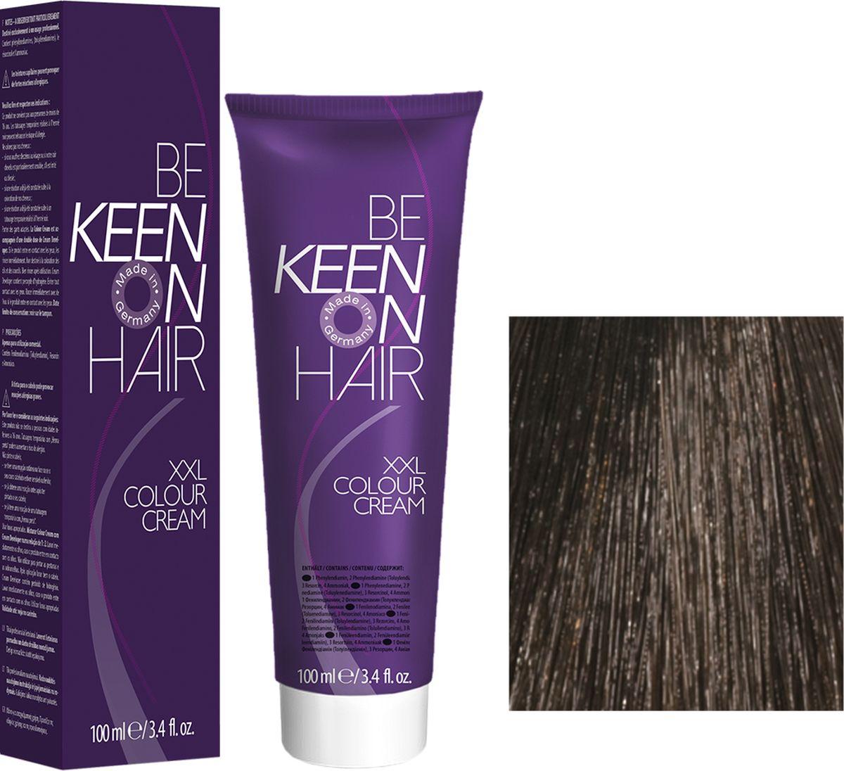 Keen Краска для волос 5.00+ Интенсивынй светло-коричневый Hellbraun +, 100 мл69100019Модные оттенкиБолее 100 оттенков для креативной комбинации цветов.ЭкономичностьПри использовании тюбика 100 мл вы получаете оптимальное соотношение цены и качества!УходМолочный белок поддерживает структуру волоса во время окрашивания и придает волосам блеск и шелковистость. Протеины хорошо встраиваются в волосы и снабжают их влагой.