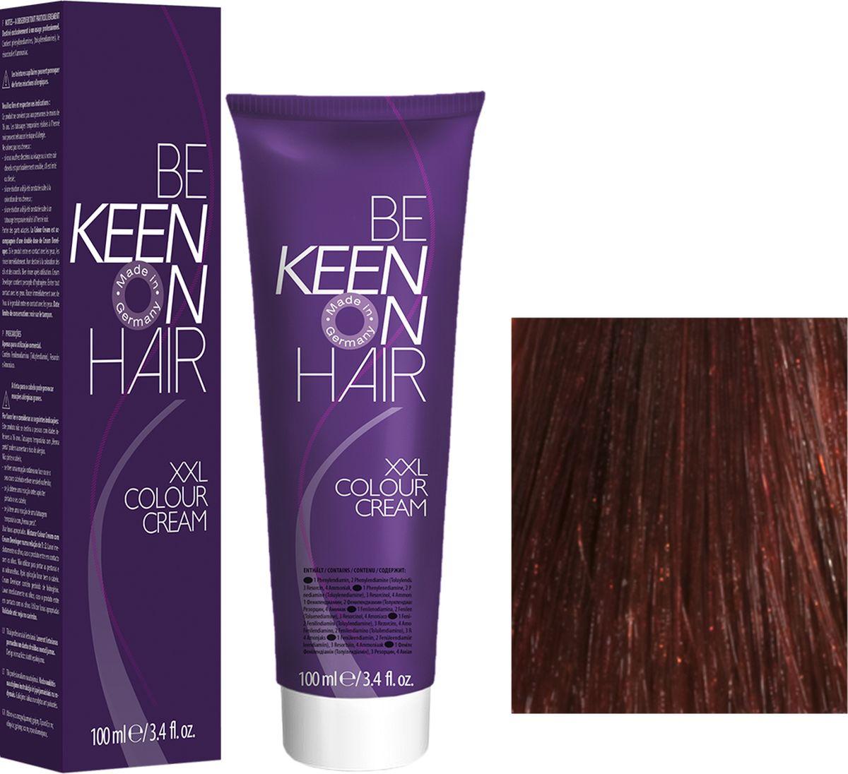 Keen Краска для волос 5.4 Светло-коричневый медный Hellbraun Kupfer, 100 мл69100021Модные оттенкиБолее 100 оттенков для креативной комбинации цветов.ЭкономичностьПри использовании тюбика 100 мл вы получаете оптимальное соотношение цены и качества!УходМолочный белок поддерживает структуру волоса во время окрашивания и придает волосам блеск и шелковистость. Протеины хорошо встраиваются в волосы и снабжают их влагой.